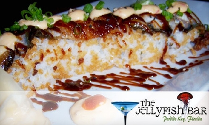 The Jellyfish Bar - Perdido Key: $15 for $30 Worth of Sushi and Drinks at The Jellyfish Bar