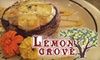 The Lemon Grove - Downtown Youngstown: $7 for $15 Worth of Café Fare and Entertainment at The Lemon Grove in Youngstown