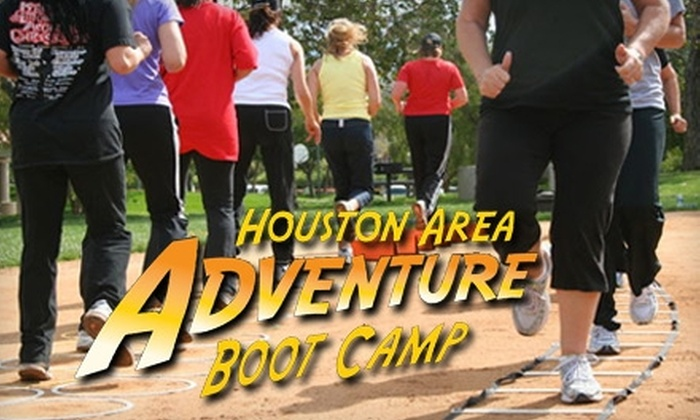Houston Adventure Boot Camp - Multiple Locations: $30 for Five Boot-Camp Classes at Houston Adventure Boot Camp ($75 Value)
