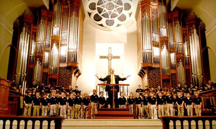 Christmas with the Georgia Boy Choir - Peachtree Road United Methodist Church: Two, Four, or Six Tickets to Christmas with The Georgia Boy Choir at Peachtree Road United Methodist Church (Up to 59% Off)