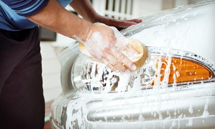 River City Car Wash - West Sacramento: Ultimate Car Wash or Complete Detail at River City Car Wash in West Sacramento