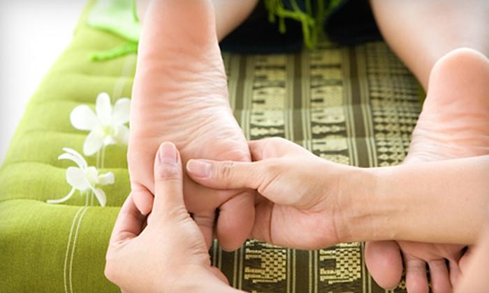 Healing Touch Reflexology - Carlsbad: Reflexology and Foot Soaks or Massage-and-Reflexology Package at Healing Touch Reflexology in Carlsbad