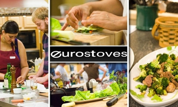 Eurostoves - Beverly: $39 for One Cooking Class at Eurostoves ($65 Value)