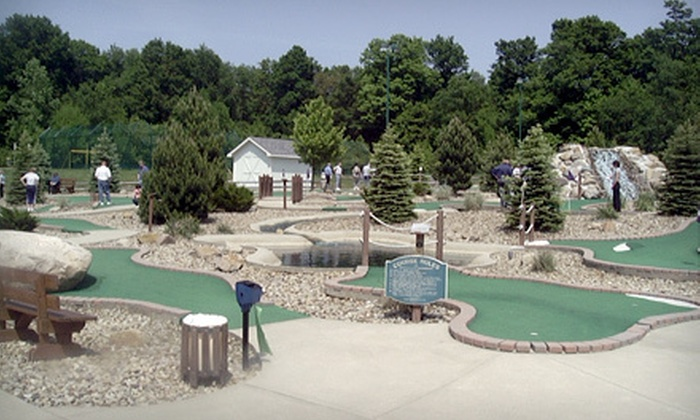 The Golf Dome - Chagrin Falls: $12 for Four Rounds of Mini Golf or 24 Batting-Cage Tokens at The Golf Dome in Chagrin Falls (Up to $24 Value)