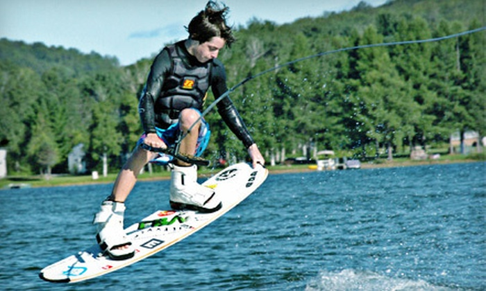 Wakeboard Clinic - Waterford: $65 for a Private One-Hour Wakeboarding Lesson for Up to Two from Wakeboard Clinic in Waterford ($130 Value)