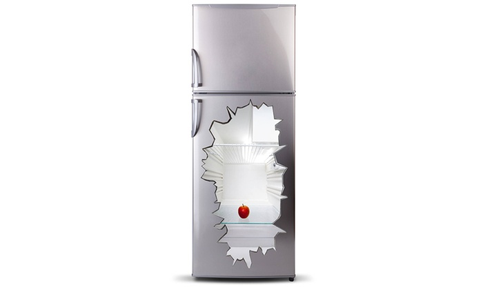 Kühlschrank Tattoo : 3d vinyl kühlschrank tattoo groupon goods