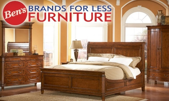 Ben's Brands For Less - Multiple Locations: $49 for $200 Worth of Furniture and Mattresses at Ben's Brands for Less