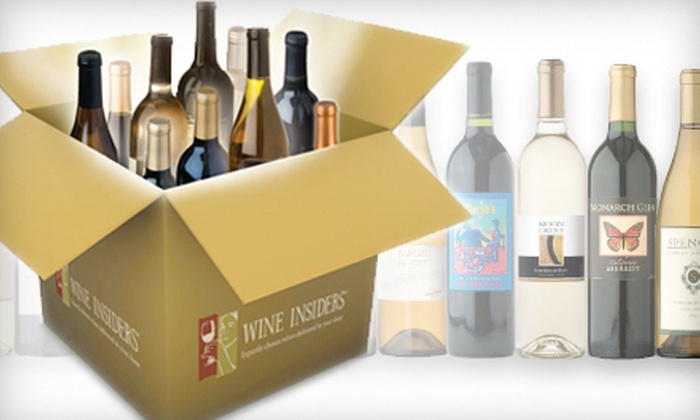 Wine Insiders - New Orleans: $25 for $75 Worth of Wine from Wine Insiders