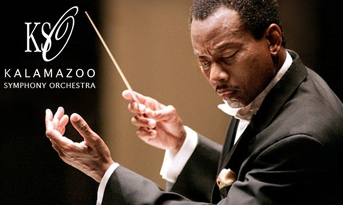 Kalamazoo Symphony Orchestra - Central Business District: $30 for Two Grand-Tier Seats to the Kalamazoo Symphony Orchestra