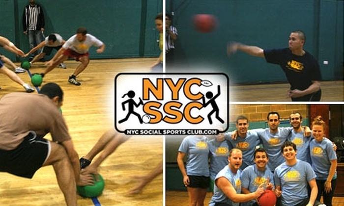 NYC Social Sports Club - New York City: $49 for a Seven-Week Dodgeball Membership at NYC Social Sports Club ($100 Value)