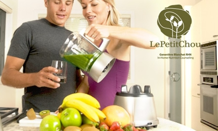 Le Petit Chou - Vancouver: $37 for an Hour-Long Healthy Pantry Consultation from Le Petit Chou ($75 Value)