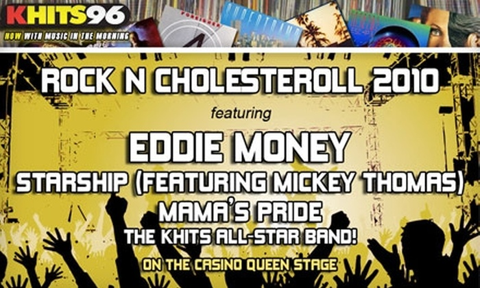 Rock 'N' CholesterRoll - Lemay: $15 for Ticket to KHITS' Rock N' CholesterRoll Concert