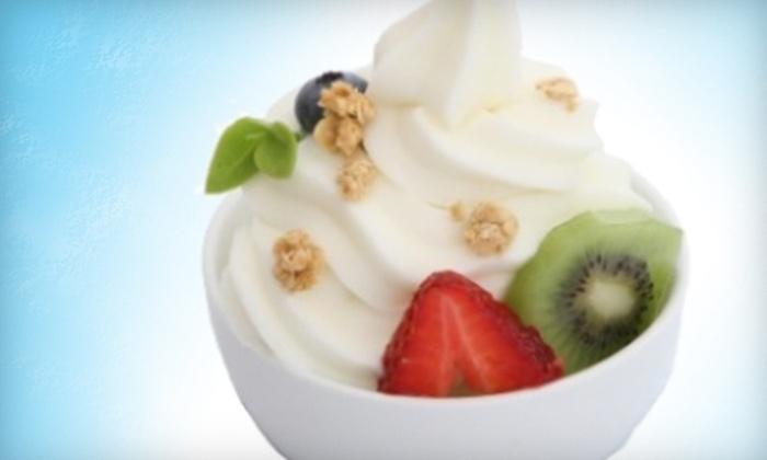 My Yogurt Cafe - Downtown St. Petersburg: $4 for $8 Worth of Self-Serve Frozen Yogurt and Coffee Drinks at My Yogurt Cafe in St. Petersburg