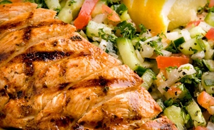 $25 Groupon to CK Mediterranean Grille & Catering - CK Mediterranean Grille & Catering in Detroit