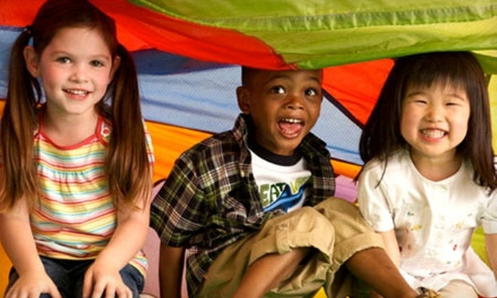 Gymboree Play & Music - Multiple Locations: $32 for One Month of Classes, Open-Gym Passes, and Lifetime Membership Fee at Gymboree Play & Music (Up to $114 Value)