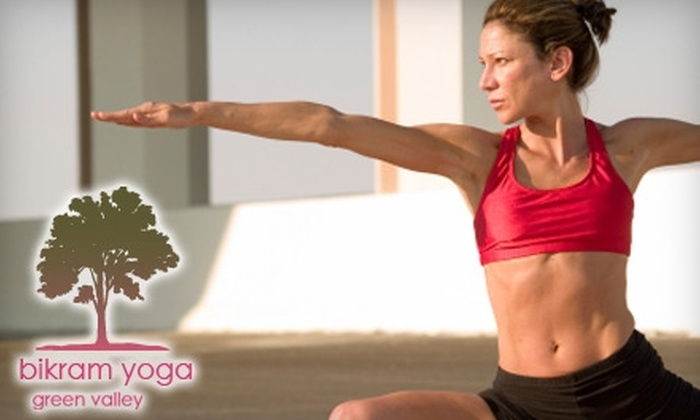 Bikram Yoga Green Valley - Green Valley South: $30 for One Month of Unlimited Bikram Yoga classes at Bikram Yoga Green Valley ($180 Value)
