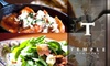 Temple Downtown - Downtown Providence: $25 for $50 Worth of Mediterranean Fare and Drinks at Temple Downtown