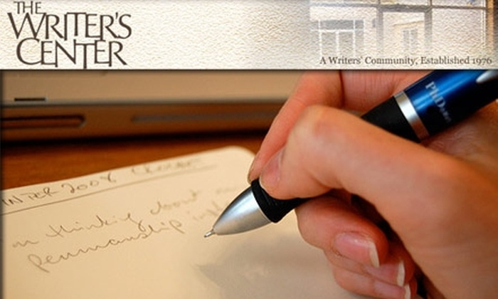The Writer's (writers) Center - Bethesda: $30 for $75 Toward Creative Writing Workshops at The Writer's Center