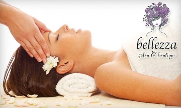 Bellezza Salon & Boutique - Bee Cave: $87 for a Yon-Ka Facial and a 60-Minute Massage from Bellezza Salon & Boutique ($175 Value)
