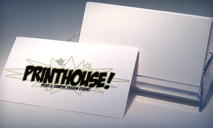 Printhouse - City Centre: $20 for $50 Worth of Copies, Printing, and Graphic Design at Printhouse