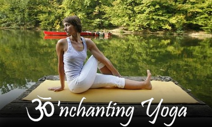 'Nchanting Yoga - Northeast Cobb: $30 for Five 90-Minute Classes at 'Nchanting Yoga ($75 Value) in Marietta