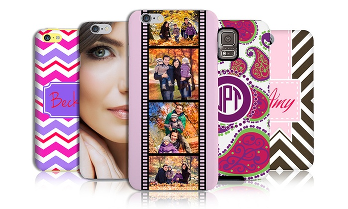 The Case Studio: Personalized Smartphone Case from The Case Studio (Up to 67% Off). Three Options Available.