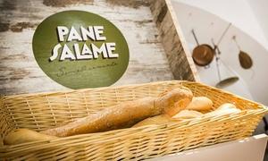 Panesalame: Panesalame - Panino con ingredienti illimitati, dolce e birra vicino a Piazza Vittorio Veneto (sconto fino a 60%)