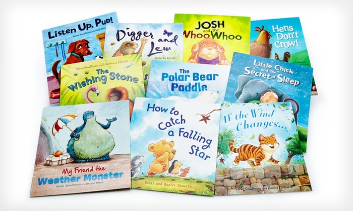 10-Book Storytime Bundle: $19.99 for a 10-Book Storytime Bundle ($79.90 List Price). Free Shipping.