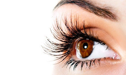 Full Set of Eyelash Extensions with Optional Refill at iLash & Skin Care Inc. (Up to 64% Off)