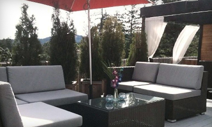 Cedar Ultra Patio - Victoria: Upscale Pub Fare for Two or Four at Cedar Ultra Patio (Half Off)