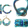 Cool Brights Seed Bead Collection Jewelry