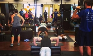 Fitnext Cincinnati: Four or Eight Group Personal-Training Classes, or One Month of Classes at Fitnext Cincinnati (Up to 61% Off)