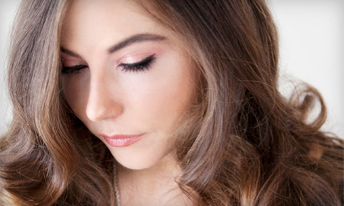 Sheek Indulgence Hair Studio - East Harlem: Haircut with Options for Color or Partial or Full Highlights at Sheek Indulgence Hair Studio (Up to 72% Off)
