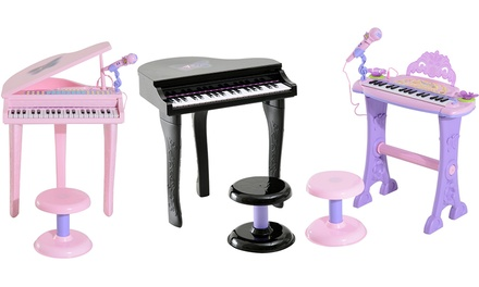 HomCom Kids Mini Keyboard in Choice of Style