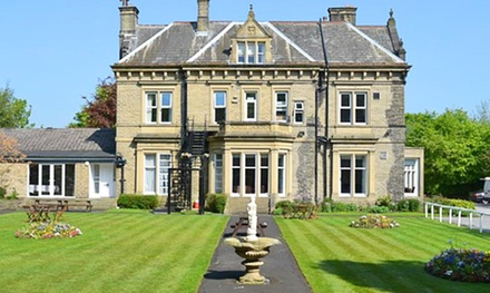 West Yorkshire: 1 or 2 Nights for Two with Breakfast, Dinner and Wine at Durker Roods Hotel