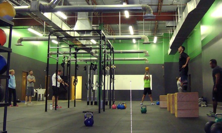 10 or 20 CrossFit Classes at CrossFit Terra Nova (Up to 51% Off)