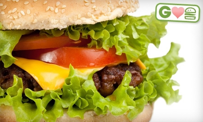 Trackside Grill - Saratoga Springs: $7 for Two Burgers and Two Fries at Trackside Grill in Saratoga Springs (Up to $15.50 Value)