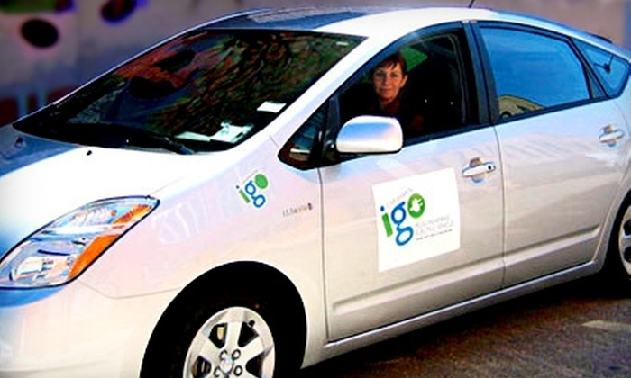 I-Go Car Sharing: $30 for a One-Year Standard Membership and $30 Driving Credit to I-Go Car Sharing ($105 Value)