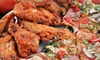 Landshark's Pizza - Downtown Destin: Pizza Meal with Pizza, Wings, and Beer for Two, Four, or Six at Landshark's Pizza in Destin (Up to 58% Off)