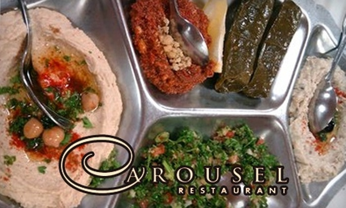 Carousel Restaurant - City Center: $39 for Two Tickets to Dinner Show ($77.90 Value) at Carousel Restaurant in Glendale