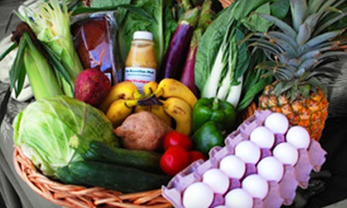 The Hawaiian Chef - Multiple Locations: $25 for Box of Local, Seasonal Produce from The Hawaiian Chef ($50 Value)