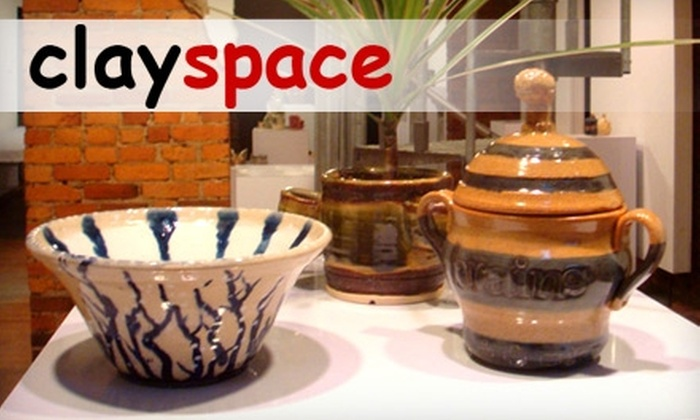 Clayspace - Columbus: $15 for $30 Worth of Ceramics Classes or Studio Time at Clayspace