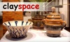 Clayspace - Brewery District: $15 for $30 Worth of Ceramics Classes or Studio Time at Clayspace