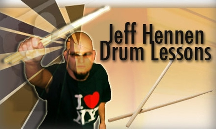 Drum-Jitsu - Dallas: $35 for Two 30-Minute Drum Lessons with Jeff Hennen at Drum-Jitsu ($70 Value)
