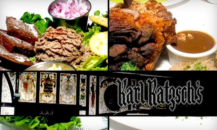 Karl Ratzsch's - Juneau Town: $15 for $30 Worth of Famous German Fare at Karl Ratzsch's