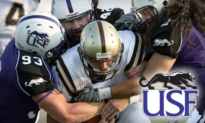 University of Sioux Falls Athletics - Augustana: $10 for Two Reserved-Seating Football Tickets to University of Sioux Falls vs. Doane College on Saturday, September 18, at 1 p.m.