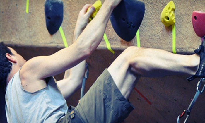 Central Rock Climbing Center - Hadley: One- or Three-Day Indoor Rock-Climbing Lessons with Equipment at Central Rock Climbing Center in Hadley (Up to 61% Off)