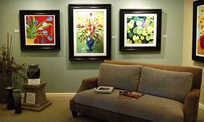 All About Art Gallery & Custom Framing - Hendersonville: $50 for $100 Worth of Custom Framing and More at All About Art Gallery & Custom Framing in Hendersonville