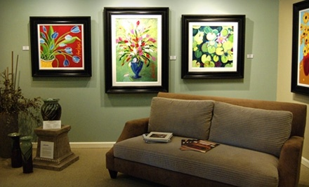 $100 Groupon at All About Art Gallery & Custom Framing - All About Art Gallery & Custom Framing in Hendersonville