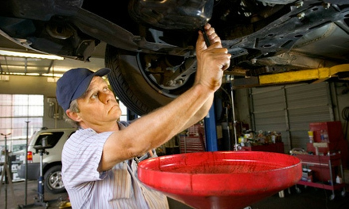 Gene Messer Toyota - Northridge: $30 for a Car-Care Package with Oil Change, Tire Rotation, and New Wiper Blades at Gene Messer Toyota ($60.85 Value)
